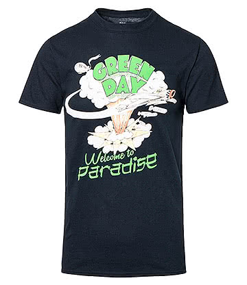 Official Green Day Paradise T Shirt (Black)
