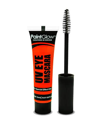 Paintglow Mascara Fluo Brille Sous Les Lampes UV (Orange)