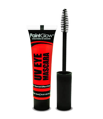Paintglow UV Mascara (Red)