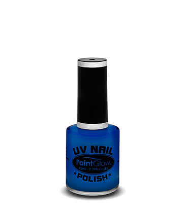 Paintglow UV Nail Polish (Blue)