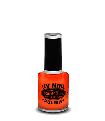 Paintglow UV Nail Polish (Orange)