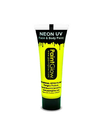 Paintglow UV Face & Body Paint (Yellow)
