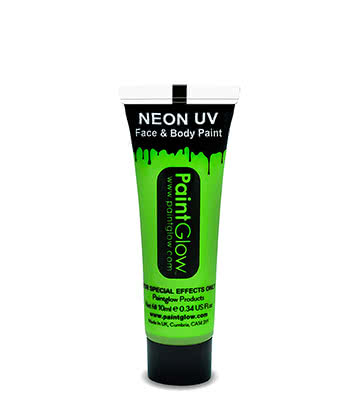 UV Face & Body Paint Paintglow (Verde)