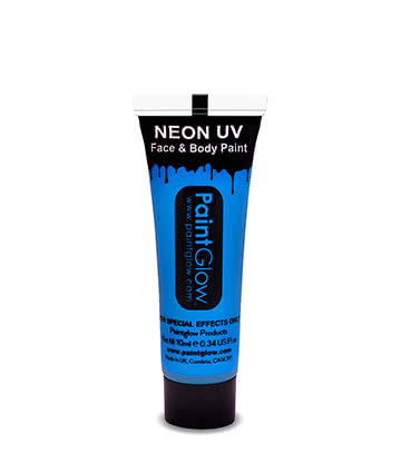 UV Face & Body Paint Paintglow (Blu)