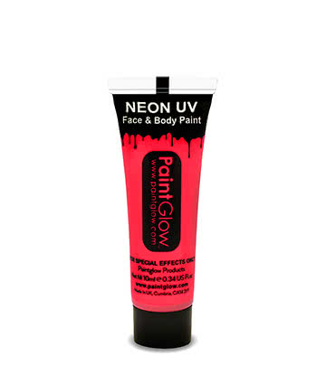 Face & Body Paint UV Paintglow (Rosa)