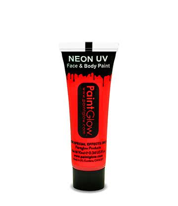 Paintglow UV Face & Body Paint (Red)