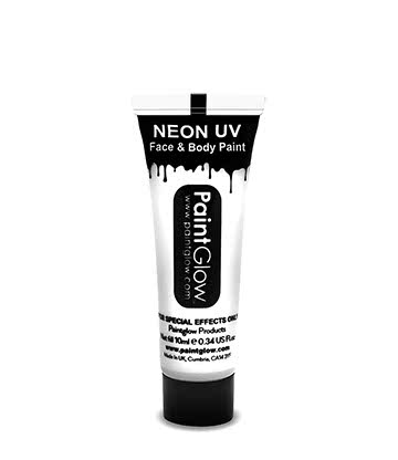 Paintglow UV Face & Body Paint (White)
