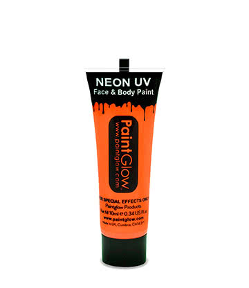 Face & Body Paint UV Paintglow (Arancione Sole)