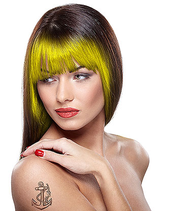 Paintglow UV Hair Chalk 3.5g  (Yellow)