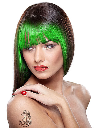 Paintglow UV Hair Chalk 3.5g (Green)