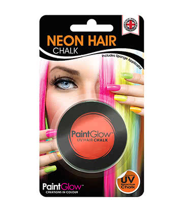 Paintglow UV Hair Chalk 3.5g (Orange)