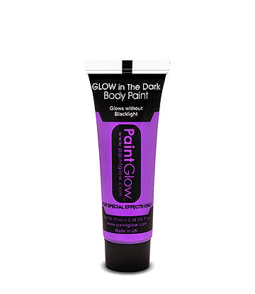 PaintGlow Glow-In-The-Dark Body Paint (Violet)
