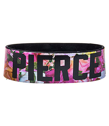 Official Pierce The Veil Roses Wristband (Multicoloured)