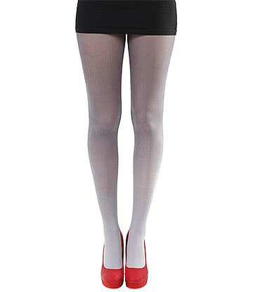 Pamela Mann Ombre Tights (Black/White)