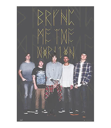 Bring Me The Horizon Poster - Affiche 60x90cm - Photo Groupe