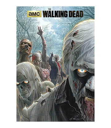The Walking Dead Zombie Horde Poster - Affiche 60x90cm