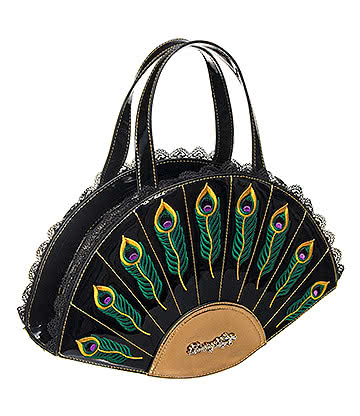 Banned Savage Garden Handbag (Black)