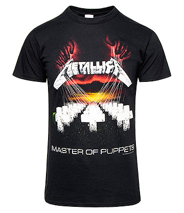 Official Metallica Master of Puppets T Shirt (Black)