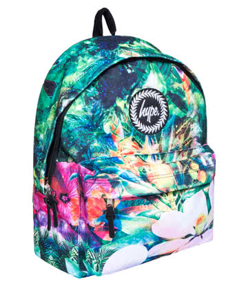 Hype Space Plants Backpack (Multicoloured)