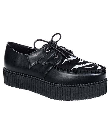 Banned Rebel Rebel Bats Creeper Shoe (Black)