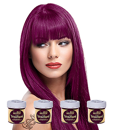 La Riche Directions Colour Hair Dye 4 Pack 88ml (Dark Tulip)
