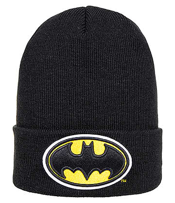 New Era Batman Beanie Hat (Black)