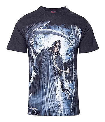 Spiral Direct Reaper Bats T Shirt (Black)