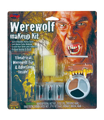 Blue Banana Werewolf Face Paint Kit