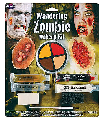 Blue Banana Wandering Zombie Make Up Kit