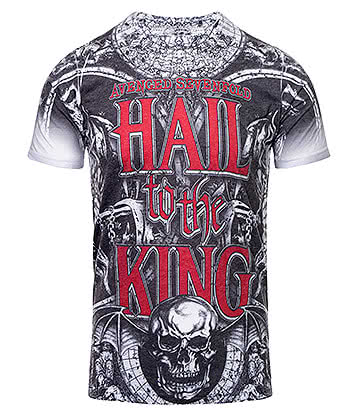 Official Avenged Sevenfold Chalice T Shirt (Grey)