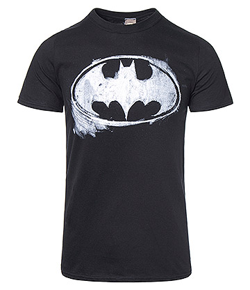 DC Batman Mono Logo T Shirt (Black)