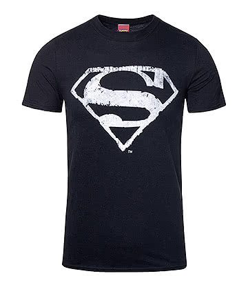 DC Comics Superman Mono Logo T Shirt (Black)