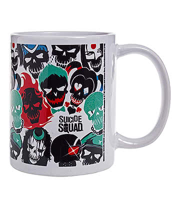 DC Comics Suicide Squad Skulls Mug (Multicoloured)