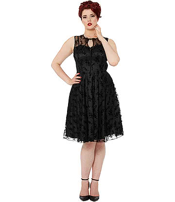 Voodoo Vixen Penny Dress (Black)