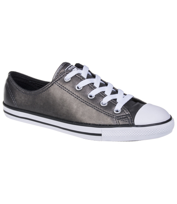 Converse All Star Dainty Metallic Shoes (Black)