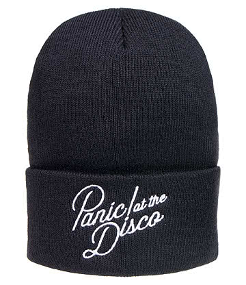 Official Panic! At The Disco Logo Beanie (Black)