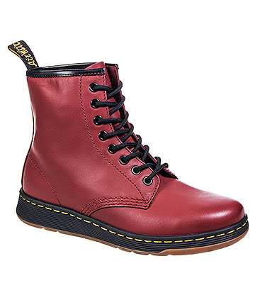 Dr Martens Lite Newton Boots (Cherry Red)