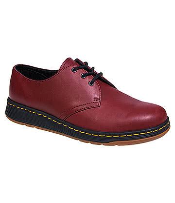 Dr Martens Lite Cavendish Shoes (Cherry Red)