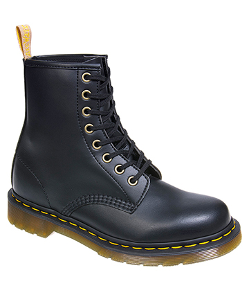 Dr Martens Vegan 1460 Boots (Black Felix Rub Off)