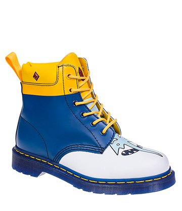 Dr Martens X Adventure Time Ice King 939 Boots (Blue)