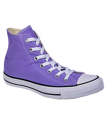 Converse All Star Hi Top Boots (Frozen Lilac)