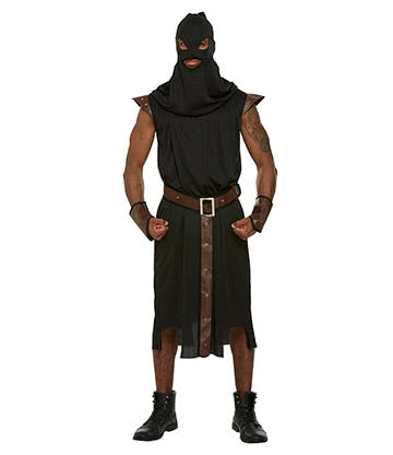 Executioner Fancy Dress Costume (Black)