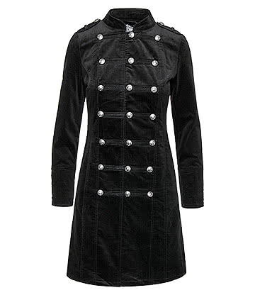 H&R Velvet Coat (Black)