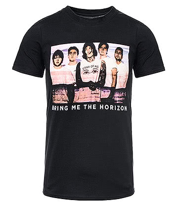 Official Bring Me The Horizon Photo Lines T Shirt (Black)