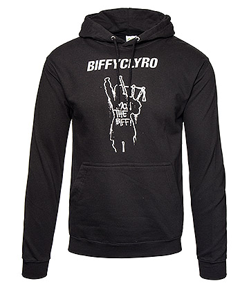 Official Biffy Clyro Mon The Biff Hoodie (Black)