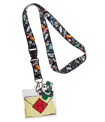 Cosmic Deadly Ink Lanyard (Multicoloured)