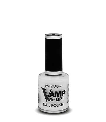 Paintglow Vamp Me Up! Nail Varnish (White)