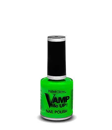 Paintglow Vamp Me Up! Nail Varnish (Green)