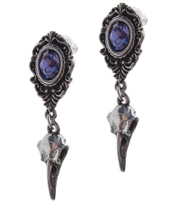 Alchemy Gothic My Soul Shadows Earrings