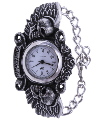 Alchemy Gothic Dark Angel Watch